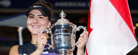 Una indomable Andreescu supera a Serena Williams y gana el Abierto de EE.UU.
