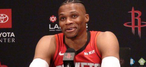 """Westbrook advierte que junto a Harden serán una pareja """"terrorífica"""""""