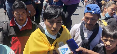Ecuardorian indigenous teen: I know the fight wasn't in vain