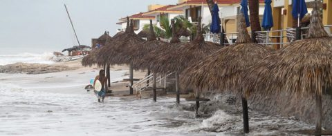Priscilla pierde fuerza en tierra y ya es depresión tropical