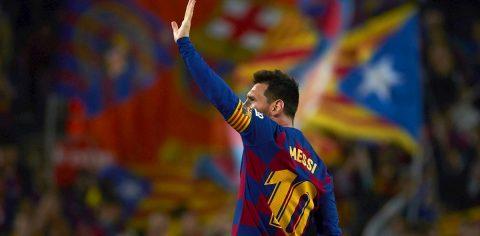 3-1. Messi pone al Barça con ventaja al descanso