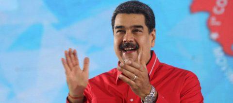 """Maduro llama """"estúpido"""" a Lenín Moreno y se deslinda de protestas regionales"""