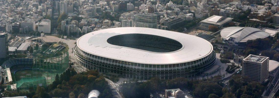 El nuevo Estadio Olímpico de Tokio, listo para los Juegos de 2020
