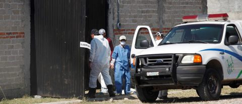 Hallan 15 bolsas con al menos 6 cuerpos humanos en finca en oeste de México