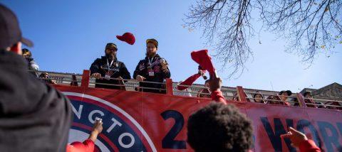 """Washington abraza la """"Nationalsmanía"""" tras histórico triunfo en béisbol"""