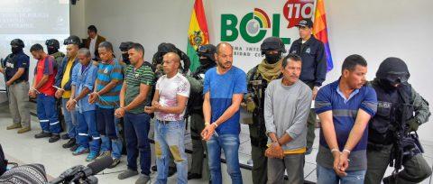Presentan a nueve venezolanos acusados por supuesta sedición en Bolivia