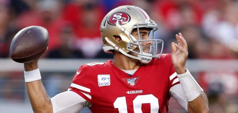 36-26. Garoppolo sella la victoria de los 49ers