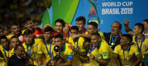 Brasil conquista en casa su cuarto título mundial sub'17 y México es subcampeón