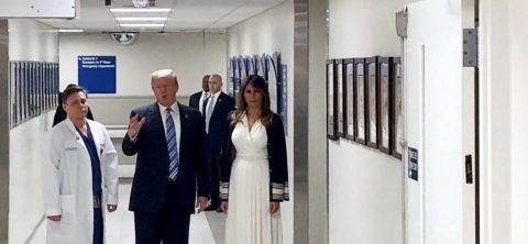 Una escapada de Trump al hospital renueva el escepticismo sobre su salud