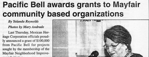 Pacific Bell awards grants to Mayfair community base organizations