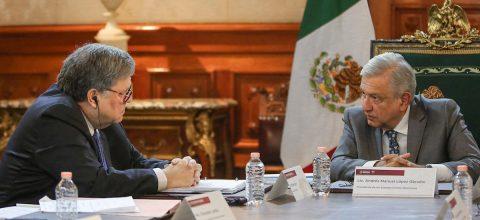 López Obrador pide al fiscal general de EE.UU. no intervenir en México