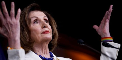 Pelosi takes offense at reporter's question about whether she hates Trump