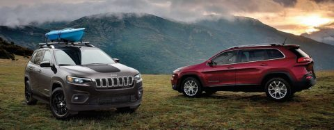 The new 2020 Jeep Cherokee