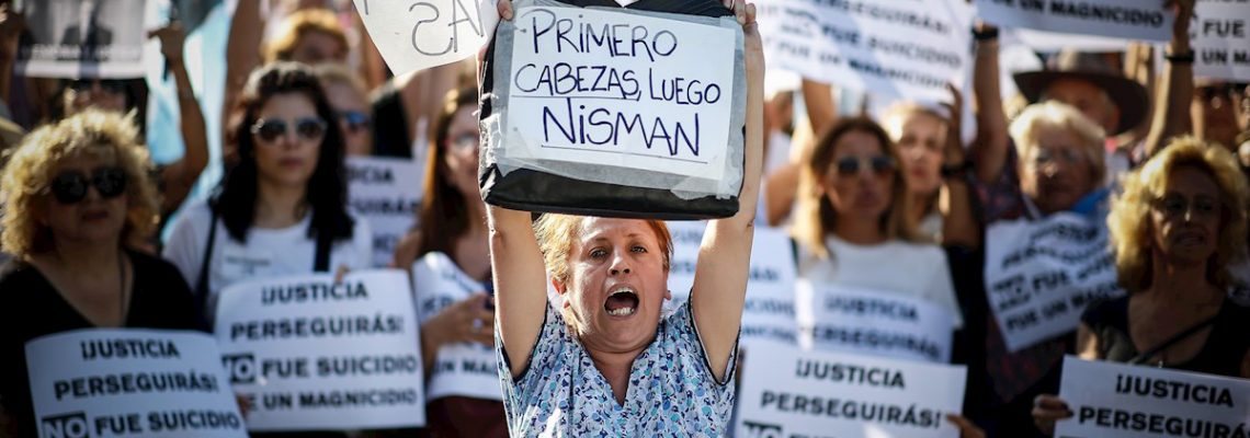 La comunidad judía argentina pide justicia tras cinco años de la muerte de Nisman