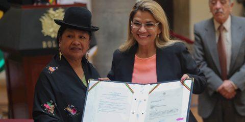 Bolivia busca declarar patrimonio cultural a sus icónicas cholas