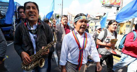 Insisten en pedido de consulta contra minería metálica en el sur de Ecuador