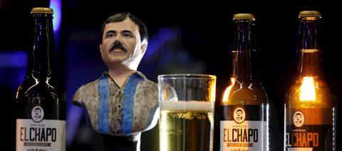 """Marca dedicada al """"Chapo"""" Guzmán incursiona en mercado de cerveza en México"""