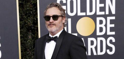 Joaquin Phoenix gana el Globo de Oro a mejor actor de una película dramática
