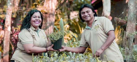 Reporter quit job to rescue ancestral medicinal plants at Nicaraguan nursery