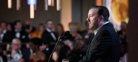 Un ácido Ricky Gervais manda en unos Globos de Oro emotivos y reinvidicativos