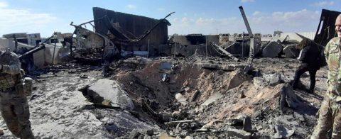 Varios soldados resultaron heridos en el ataque iraní a base militar