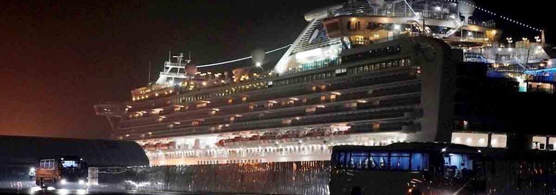 Cuarenta estadounidenses dieron positivo por coronavirus en un crucero en Japón