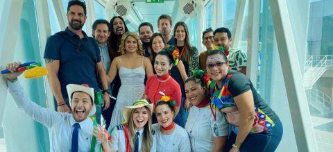 El Carnaval de Barranquilla llega a las alturas