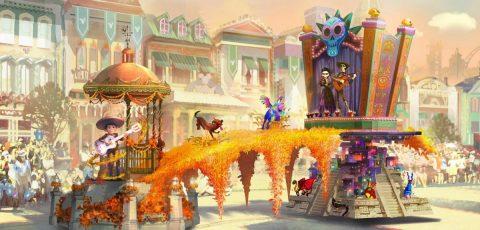 """Disneyland tendrá su primera carroza 100% latina e inspirada en """"Coco"""""""