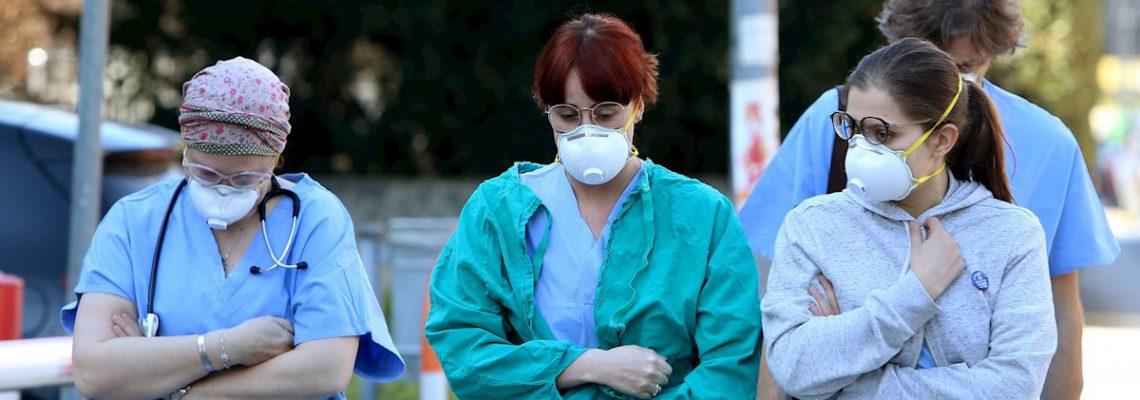 Dos muertos y mas de 60 contagiados por el coronavirus en el norte de Italia