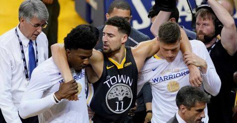 El escolta Klay Thompson no jugará esta temporada con los Warriors