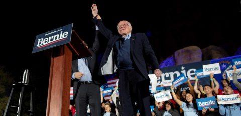 Bernie Sanders saborea sus probabilidades en Las Vegas