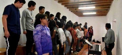Una vecindad se erige como semillero de jóvenes artistas en centro de México