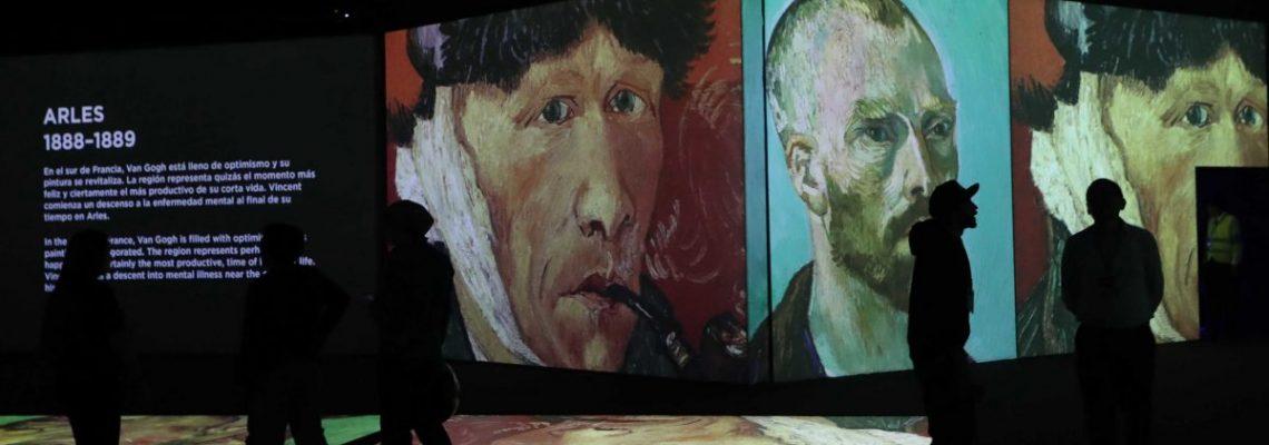 La vida y obra de Van Gogh llegan a México en una exposición multisensorial