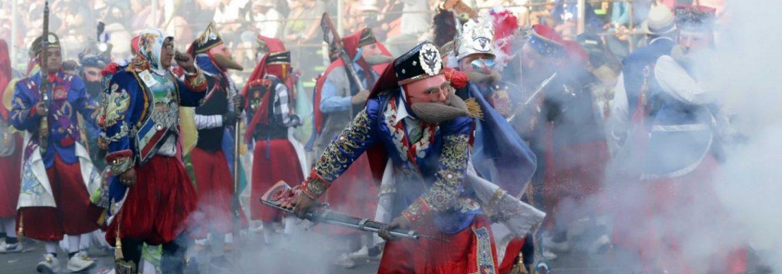 Carnaval de Huejotzingo, tradición ancestral en estado mexicano de Puebla