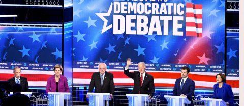 Las primarias demócratas explotan contra Bloomberg en el debate de Las Vegas