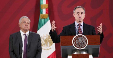 México suspende actividades públicas para mitigar contagios de COVID-19