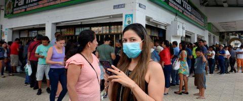 Los casos de contagio por coronavirus afectan ya a las 24 provincias de Ecuador