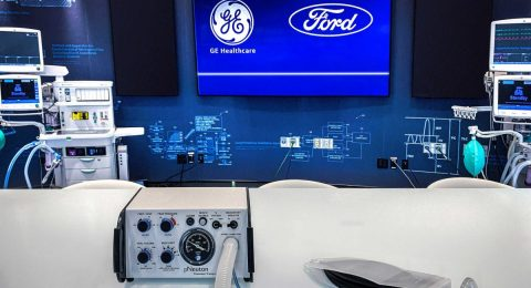 Ford producirá 50.000 respiradores en 100 días a partir del 12 de abril