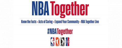 La NBA lanza la campaña 'NBA Together' para amenizar el confinamiento
