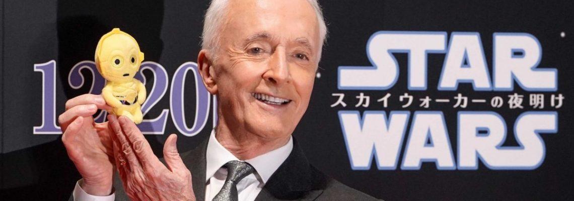 """Anthony Daniels, el alma de C-3PO: """"Star Wars"""" es un refugio en estos tiempos"""