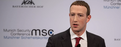 "Zuckerberg: ""Local journalism is incredibly important"" to fighting coronavirus"