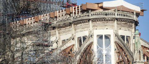 Suspendidas las obras de la catedral de Notre Dame por la pandemia