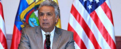 El presidente de Ecuador y otros líderes piden una alianza global contra el COVID-19