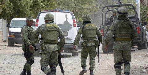 Fuerzas armadas a seguridad pública