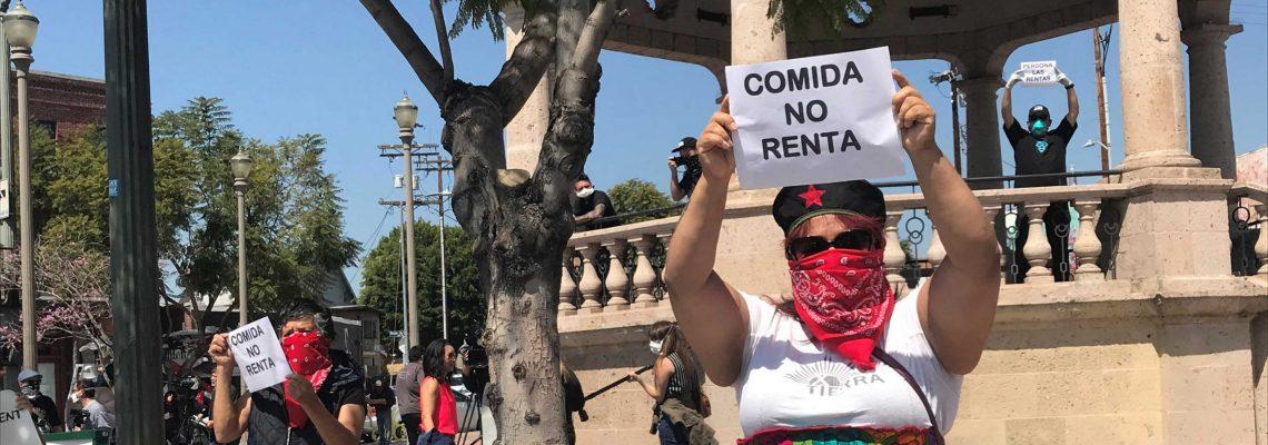 """El coronavirus desata una """"huelga de alquileres"""" en el país"""