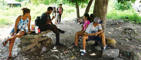 Migrantes a la deriva y expuestos a la pandemia en el sureste de México