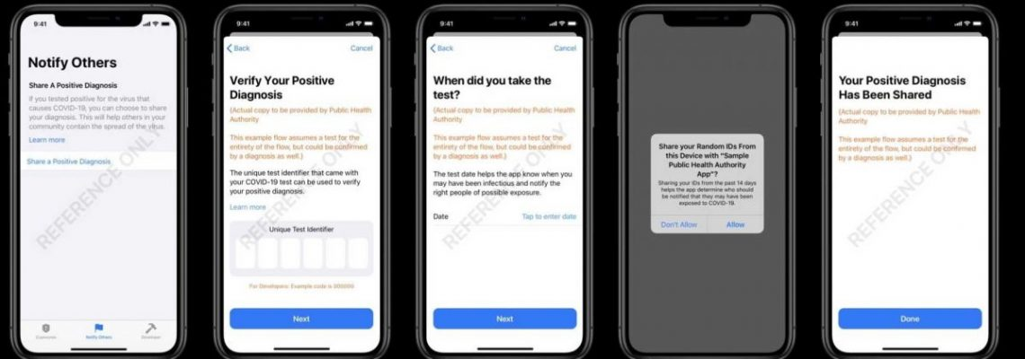 Apple y Google revelan cómo serán las apps de rastreo de contactos de COVID19
