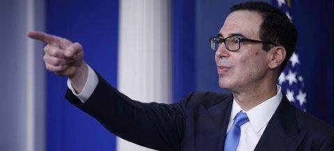 """El Tesoro ve """"gran probabilidad"""" de otro plan de rescate fiscal en EE.UU."""