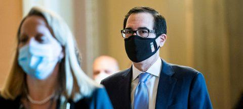 """El secretario del Tesoro alerta del """"daño permanente"""" si no se reabre EE.UU."""
