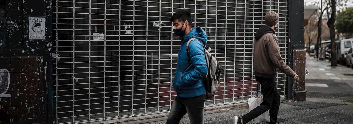 La economía argentina se derrumba 26,4 % en abril, golpeada por el COVID-19